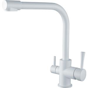 Смеситель для кухни Kaiser Merkur под фильтр белый (26044-10)