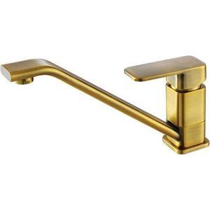 Смеситель для кухни Kaiser Sonat, бронза Bronze блестящая (34033-1G) смеситель для раковины kaiser king бронза bronze 77012 1g