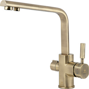 Смеситель для кухни Kaiser Decor под фильтр, бронза Bronze (40144-3)