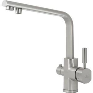 Смеситель для кухни Kaiser Decor под фильтр, серебро Silver (40144-5)