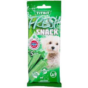 Лакомства TitBit Fresh Snack Dental+ для собак мелких пород 11г (005293)