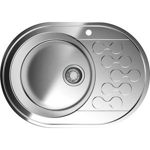 Кухонная мойка Omoikiri Kasumigaura 65-1-L нержавеющая сталь (4993008)