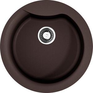 Кухонная мойка Omoikiri Yasugata 48R-DC темный шоколад (4993211) omoikiri yasugata 48r d485 черная
