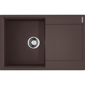 Кухонная мойка Omoikiri Daisen 78-DC темный шоколад (4993326)
