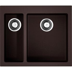 Кухонная мойка Omoikiri Bosen 59-2-DC темный шоколад (4993223)