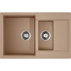 Кухонная мойка Omoikiri Daisen 78-2-SA бежевый (4993417) цена