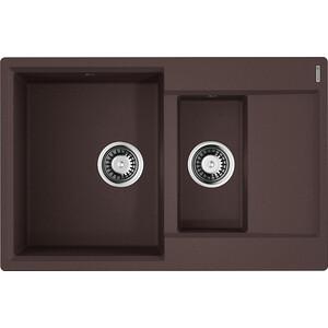 Кухонная мойка Omoikiri Daisen 78-2-DC темный шоколад (4993333) цены онлайн