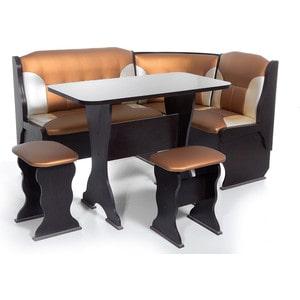 Набор мебели для кухни Бител Орхидея - комби (венге терра эффект-109 + с -101, венге) цена и фото