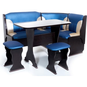 Набор мебели для кухни Бител Орхидея - комби (венге, терра эффект-114 + с-101, венге) цена и фото