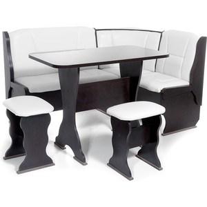 Набор мебели для кухни Бител Орхидея - однотонный (венге, Борнео милк, венге)