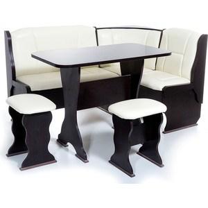 Набор мебели для кухни Бител Орхидея - однотонный (венге, Борнео крем, венге)