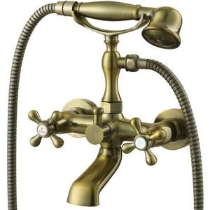 Смеситель для ванны Kaiser Carlson Style короткий излив, бронза Bronze (44322-1)