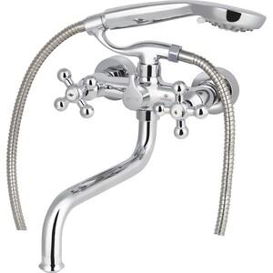 Смеситель для ванны Kaiser Carlson Lux хром (11255) смеситель для раковины kaiser carlson lux хром 11061