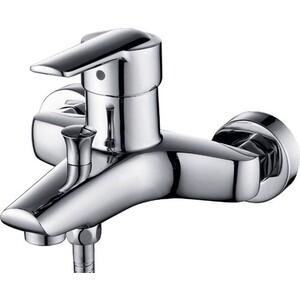Смеситель для ванны Kaiser Orbit короткий излив с душем, хром (20022)
