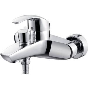 Смеситель для ванны Kaiser Nova короткий излив с душем, хром (23022)