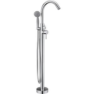 Смеситель для ванны Kaiser Merkur напольный, хром (26182)