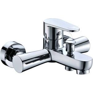 Смеситель для ванны Kaiser County короткий излив с душем, хром (55222)