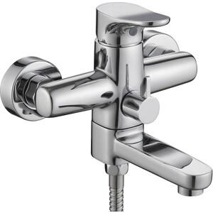 купить Смеситель для ванны Kaiser Vega короткий излив с душем, хром (63022) онлайн