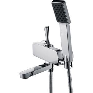 Смеситель для ванны Kaiser Vista поворотный излив с душем, хром (65122)
