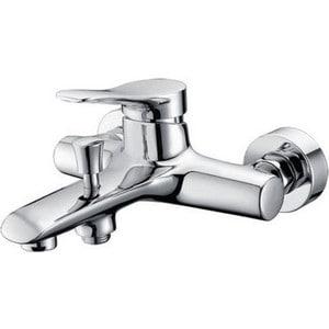 Смеситель для ванны Kaiser Sena короткий излив с душем, хром (74022) цена в Москве и Питере