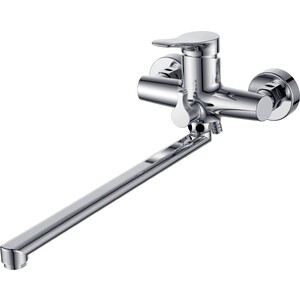 Смеситель для ванны Kaiser Sena L-40cm с душем, хром (74055)