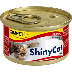 Консервы Gimborn Gimpet ShineCat Chicken цыпленок для кошек 70г (413310) корм для кошек gimpet shiny cat цыпленок конс 70г