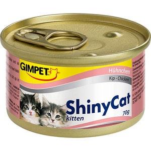 Консервы Gimborn Gimpet ShineCat Kitten Chicken цыпленок для котят 70г (413341/412726/411668) корм для кошек gimpet shiny cat цыпленок конс 70г