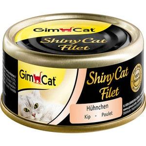 Консервы Gimborn Gimcat ShineCat Filet Chicken цыпленок для кошек 70г (413808)