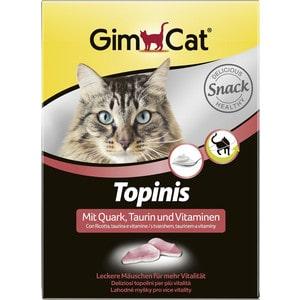 Витамины Gimborn Gimcat Topinis with Cottage Cheese, Taurine and Vitamins с творогом, таурин и витаминами для кошек 190таб (409757)