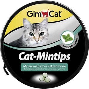 все цены на Витамины Gimborn Gimcat Cat-Mintips No Sugar Added с ароматом кошачьей мяты без сахара для кошек 330таб (408057) онлайн