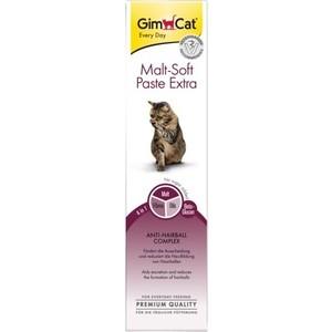 Витамины Gimborn Gimcat Malt-Soft Paste Extra Anti-Hairball Fibre паста для вывода шерсти из желудка кошек 200г (417127-407029)