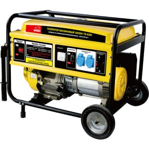 Генератор бензиновый Бизон ГБ-6500