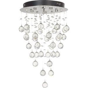Потолочный светодиодный светильник Lucia Tucci Grappolo 1801.6 Silver потолочный светодиодный светильник lucia tucci grappolo 1801 6 silver
