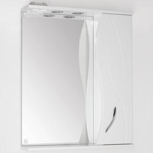 Зеркало-шкаф Style line Амелия 65 с подсветкой, белый (2000949067537)