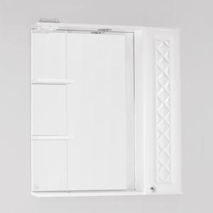 Зеркало-шкаф Style line Канна Люкс 75 с подсветкой, белый (2000949080383)