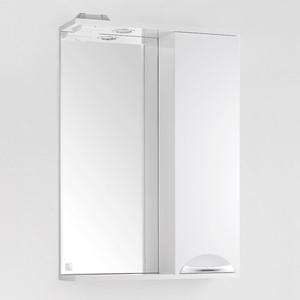 Зеркало-шкаф Style line Жасмин 55 с подсветкой, белый (2000948994513)