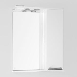 Зеркало-шкаф Style line Жасмин 65 с подсветкой, белый (2000949067551)