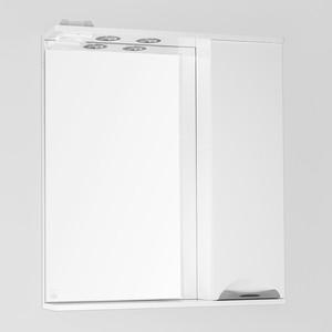 Зеркало-шкаф Style line Жасмин 70 с подсветкой, белый (2000949038698)