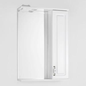 Зеркало-шкаф Style line Олеандр-2 Люкс 55 с подсветкой, белый (2000949059891)