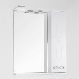 Зеркало-шкаф Style line Венеция 65 с подсветкой, белый (2000949061719)