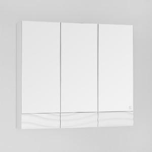 Зеркальный шкаф Style line Вероника 80 белый (2000949032757)
