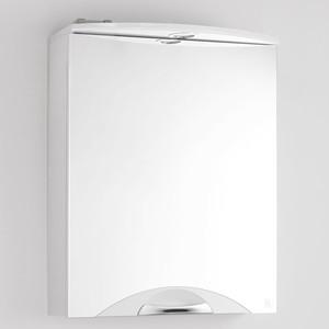 Зеркальный шкаф Style line Жасмин-2 Люкс 55 с подсветкой, белый (2000949075556)