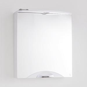 Зеркальный шкаф Style line Жасмин-2 Люкс 60 с подсветкой, белый (2000949021119)
