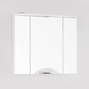 Зеркальный шкаф Style line Жасмин-2 Люкс 76 с подсветкой, белый (2000949034102)