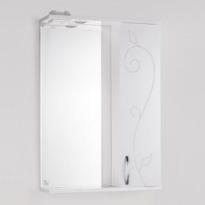Зеркало-шкаф Style line Панда Фьюжн 55 с подсветкой, белый (4603720984542)