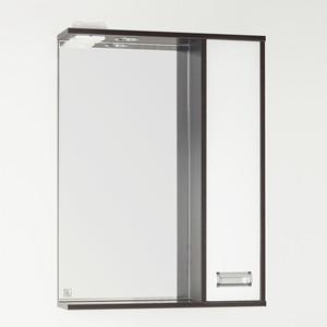 Зеркало-шкаф Style line Панда Стиль (W) 60 с подсветкой, венге (2000949064598)