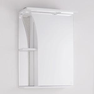 Зеркальный шкаф Style line Виола 50 с подсветкой, белый (2000001713204)