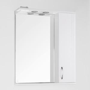 Зеркало-шкаф Style line Панда 65 с подсветкой, белый (2000949015439)