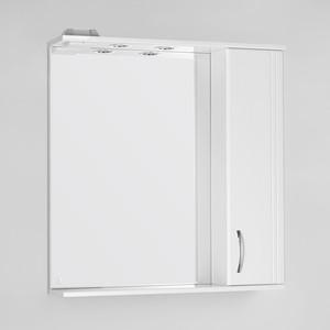 Зеркало-шкаф Style line Панда 75 с подсветкой, белый (2000900320015)