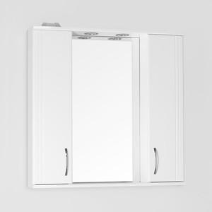 Зеркало-шкаф Style line Панда 80 с подсветкой, белый (2000948989236)